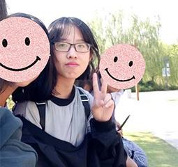 林柳婷 上海杉达学院考入上海海洋大学